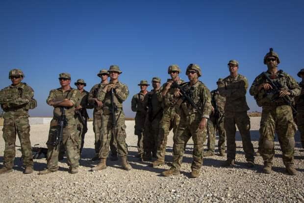 Американские военные в Сирии. Источник изображения: