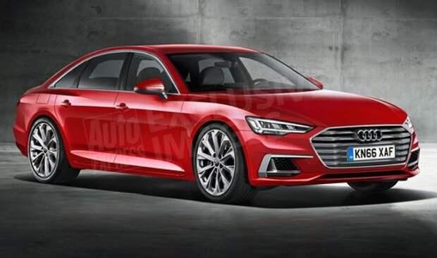 Улыбка хищника: новая Audi A6 показала себя