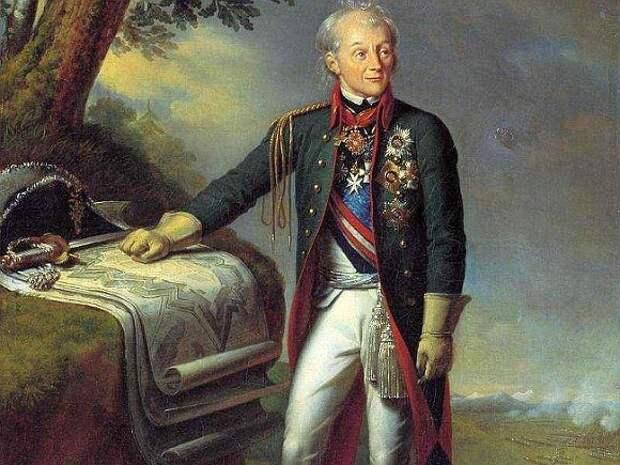 Портрет А.В.Суворова. Художник К.Штейбен, 1815