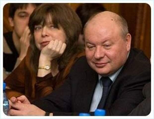 Е. Т. Гайдар с супругой. Фото из открытых источников