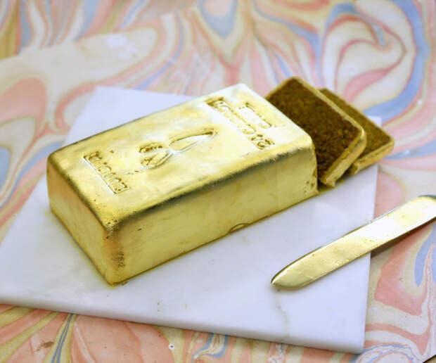 Золото можно есть.