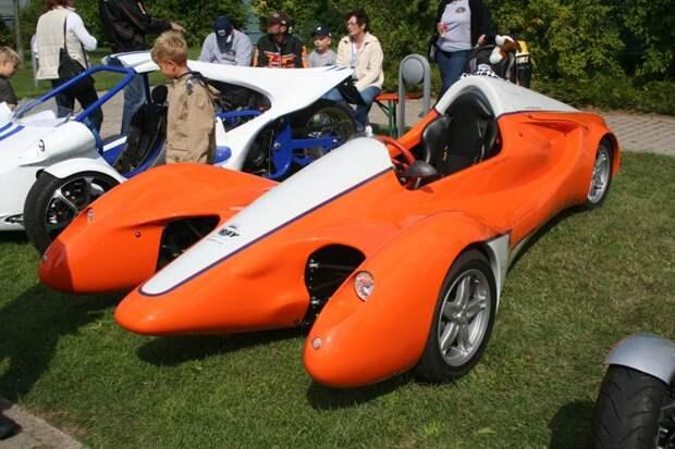 Colani Street-Ray (2006) Автомобиль с идеальной управляемостью, как характеризовал его сам создатель Colani, авто, дизайн
