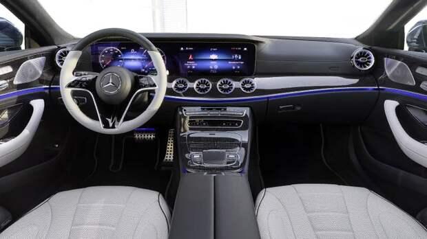 2022 Mercedes-Benz CLS-Class получает обновленный стиль