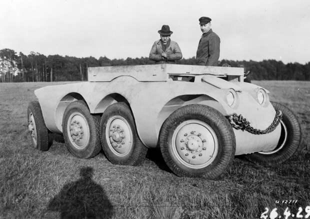 Daimler-Benz MTw 1 '1927–28 авто, автомир, интересное, монстры, странные