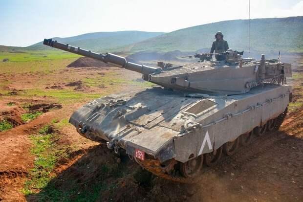 Израильская артиллерия ответила на ракеты из Газы