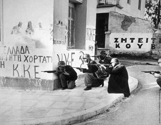 Гражданская война в Греции.
