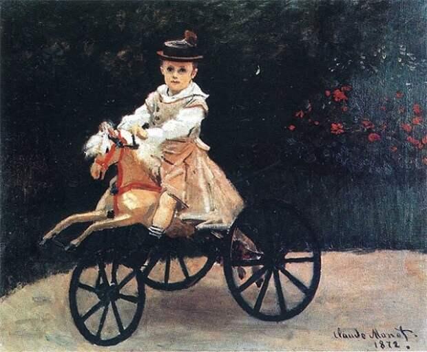 В конце 1871 года Моне возвращается во Францию, он селится в Аржантей, на правом берегу Сены. Здесь он вступает в один из самых плодотворных периодов своего творчества.