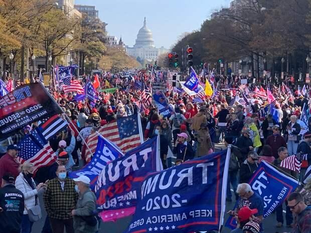 Выбор в США: марш миллионов