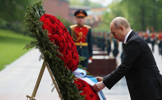 РБК сообщают, что Путин поздравил с Днем Победы всех лидеров СНГ, кроме Грузии и Украины