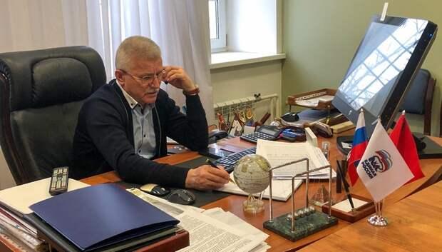 Депутат Мособлдумы окажет материальную помощь больному ребенку из Подольска