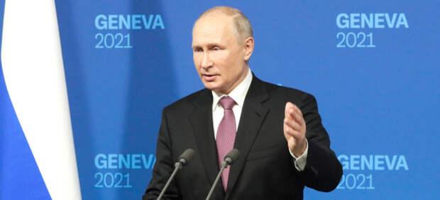 «Зарницы доверия»: о чем Путин сказал на пресс-конференции после саммита с Байденом