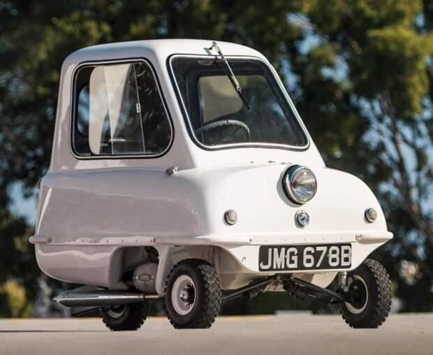 Peel P50 авто, автодизайн, концепт