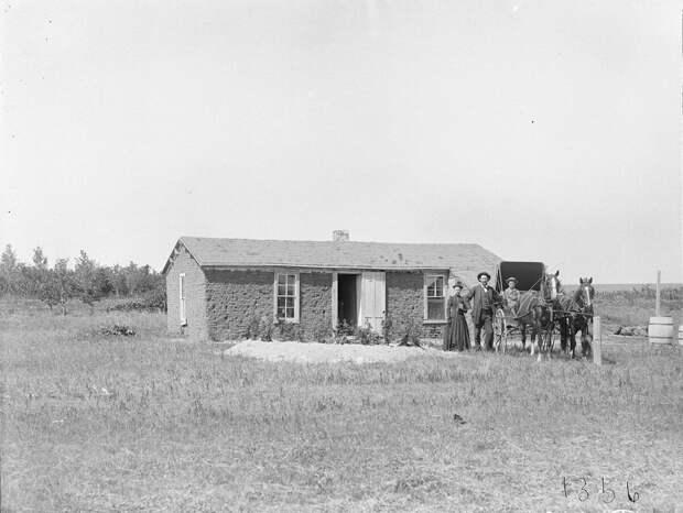 Как поднималась американская целина. Архивные фотографии пионеров Великих равнин конца 19-го века 32
