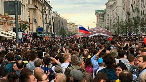 Московский Майдан – мечта Вашингтона: зачем США нужна «цветная революция» в России