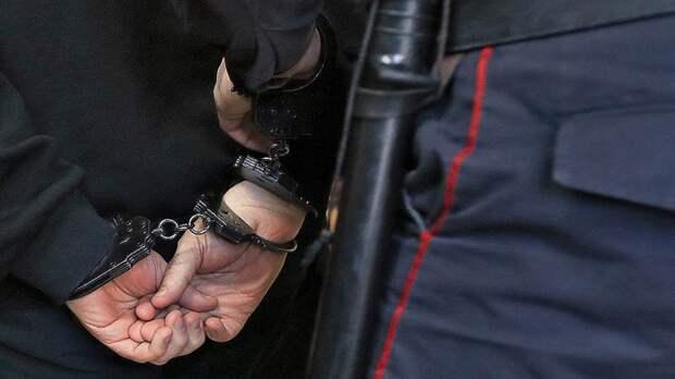 На Мячковском бульваре задержали драгдилера