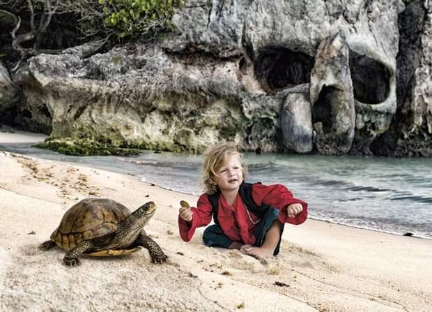 Приключения малыша встиле пиратов Карибского моря