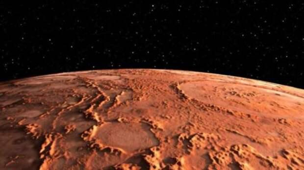 Вода на Марсе: открыта подземная система озер с жидкой водой (4 фото)