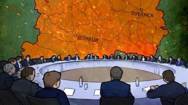 «Пытаются сломать «Минск-2»: Захарова озвучила украинский план «Б» по Донбассу