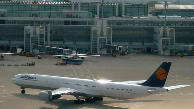 Немецкая авиакомпания Lufthansa прокомментировала отмену рейсов из Москвы и Петербурга