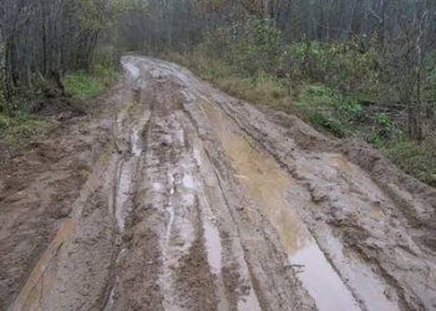 Режим ЧС из-за размытых дорог ввели в Шимановском районе