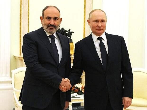 В Кремле ответили на вопрос о письме Пашиняна Путину