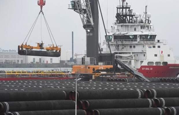 Способное достроить «Северный поток – 2» судно вышло из порта Находки
