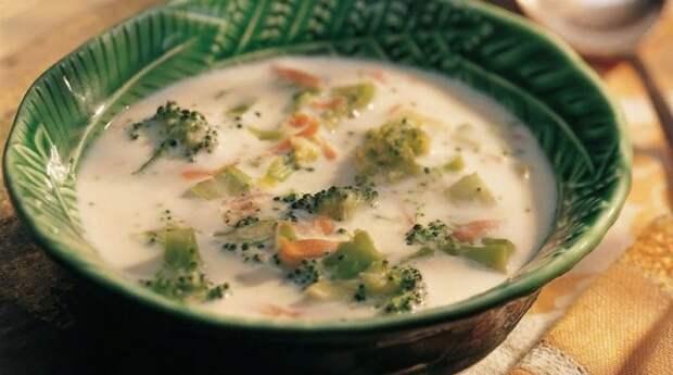 Сырный суп с БРОККОЛИ и грибами: пошаговый рецепт