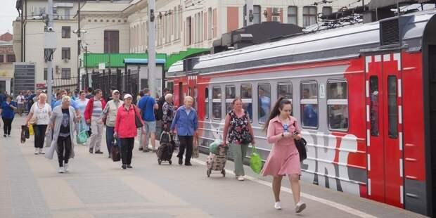 Два поезда по выходным перестанут ходить на Савеловском направлении