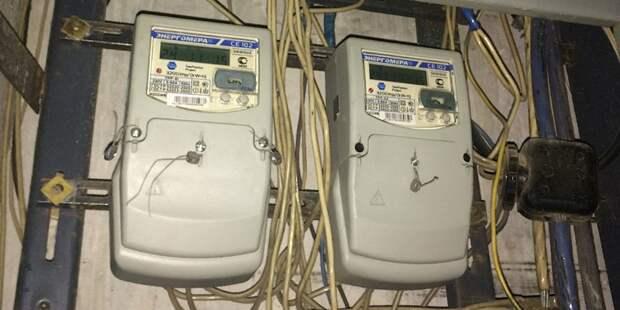 Жители Головинского узнали, когда им поменяют электросчетчики