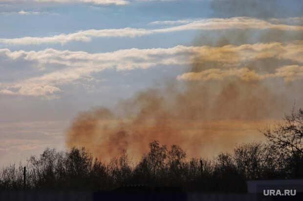 Из-за пожаров закрыто движение натрассе Екатеринбург—Тюмень