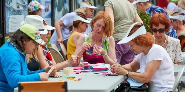 Проект «Московское долголетие» возвращается в офлайн. Фото: М. Денисов mos.ru