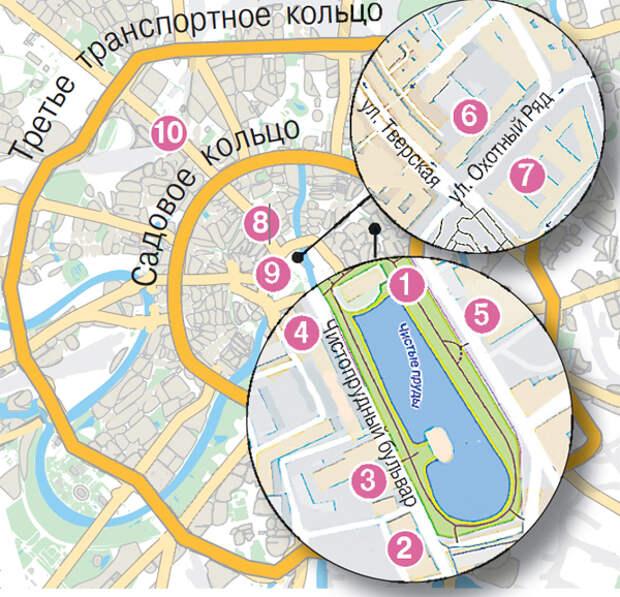 Город вечного лета. На каких улицах Москвы Муля нервировал Раневскую?