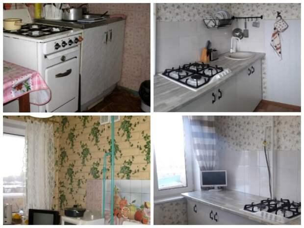Анне понадобился месяц упорного труда, чтобы изменить мамину кухню до неузнаваемости. | Фото: youtube.com.