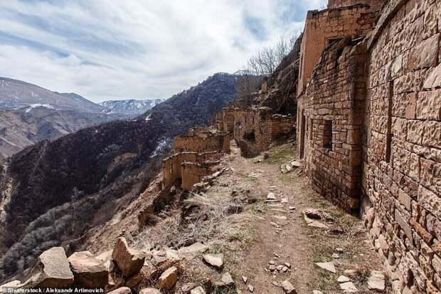 Жутковатые деревни-призраки в Дагестане