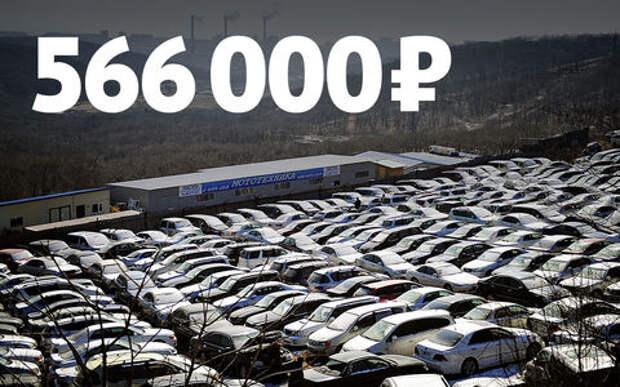 Цены на подержанные автомобили в России начали снижаться