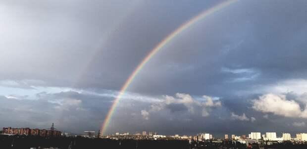 В небе над Ростовом запечатлели двойную радугу