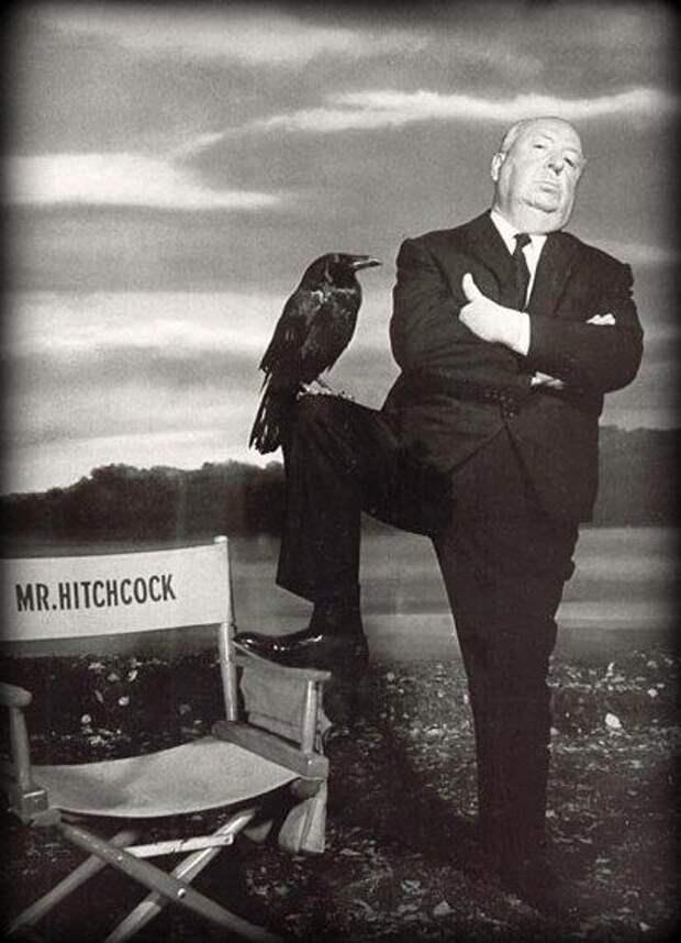 Черный, черный юмор от черного, черного Альфреда Хичкока.