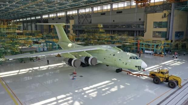 Первый Ил-76МД-90А собранный на поточной линии сборки передан на испытания