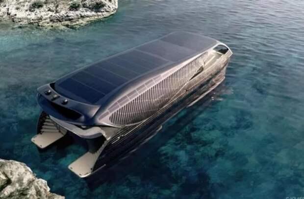 Солнечная яхта SolarImpact может путешествовать бесконечно