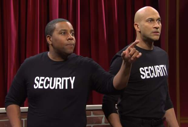 SNL: Watch Keegan-Michael Key and Kenan Thompson's Security Guards Shut Down Muppet Show Hecklers