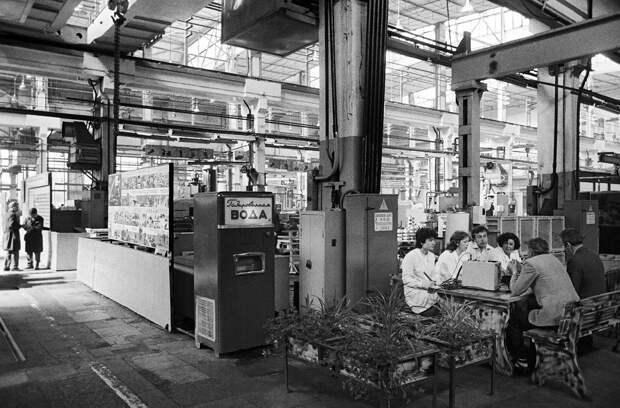 Что продавалось в советских торговых автоматах