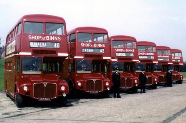 AEC Routemaster автобус, автодизайн, дизайн