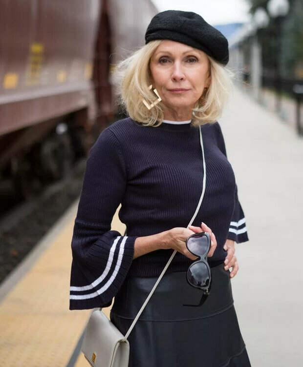 Мелочи, которые сделают образ женщины 50+ уникальным