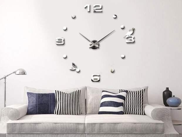 Часы в интерьере фото 29
