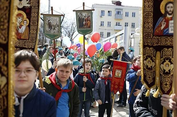 Крестный ход пионеров в Краснодаре, фото из Яндекс