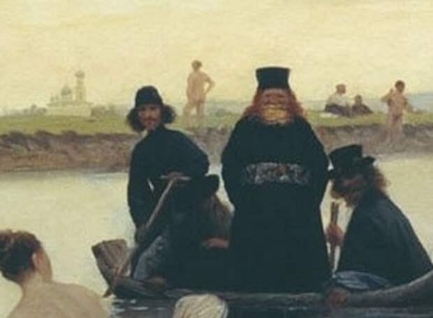 Картина Репина «Приплыли»: что означает эта фраза ипочему она удивилабы художника