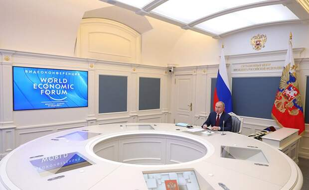 27 января российский президент Владимир Путин выступил на Всемирном экономическом форуме в Давосе.