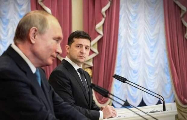 Зачем Киев распространяет слухи о скорой встрече Зеленского с Путиным?