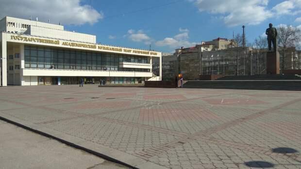 В Симферополе хотят восстановить фонтан на площади Ленина