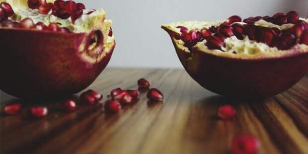продукты для здоровья суставов: гранат